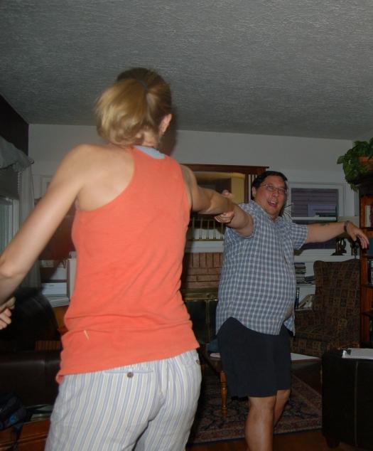 Dancing!